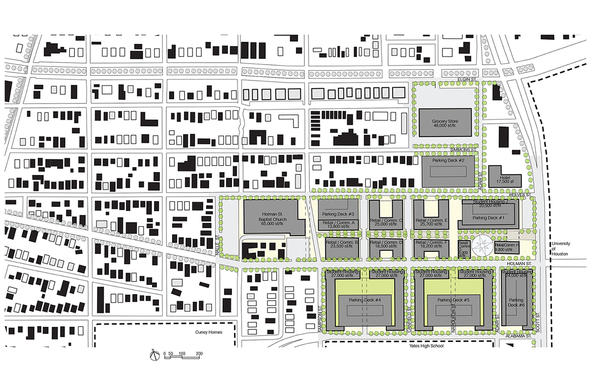 N:Projects582DWGsite map-proposed 1-200 Town Center (1)
